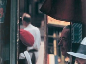 Saul Leiter, Reflection, 1958. © Saul Leiter. Courtesy of Howard Greenberg Gallery, New York.
