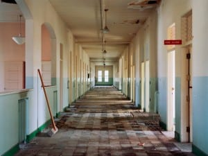 Christopher Payne, Typical Ward, Oregon State Hospital, Salem, OR, 2005.