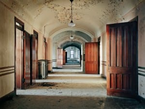 Christopher Payne, Typical Ward, Kankakee State Hospital, Kankakee, IL, 2007. Detail.