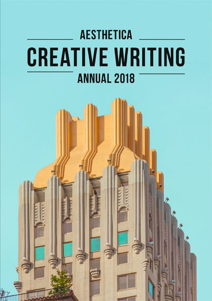 aesthetica creative writing anthology