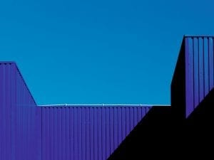 Steve Bainbridge, <i>Warehouse #2</i>, 2015. From the series <i>Abstract Architecture</i>.