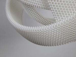 Jan Wertell and Gernot Oberfell, <i>Atomic Light</i> (2016). Material: Nylon. Technique: Selective Laser Sintering. Courtesy WertelOberfell.