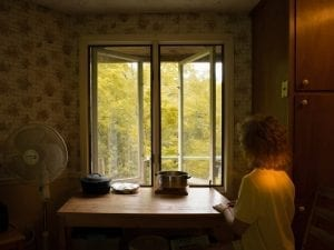Tania Franco Klein, <i>The Window (Self-Portrait),</i> 2017.