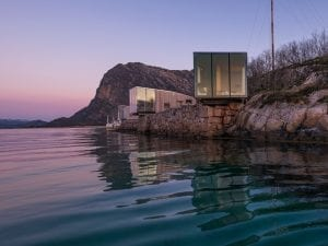 Stinessen Arkitektur, <i>Manshausen Island Resort,</i> 2015, Manshausen, Norway. Image credit: Steve King.