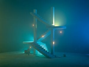 Chen Wei, <I>Stairs</I>, 2015. © CHEN Wei, courtesy of ShanghArt Gallery (Shanghai, Beijing, Singapore).
